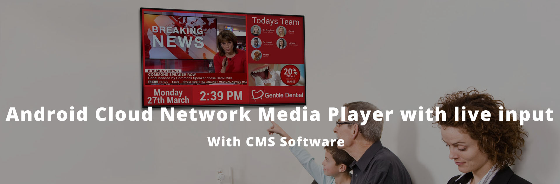 Cloud media player in Kenya with live TV input for digital