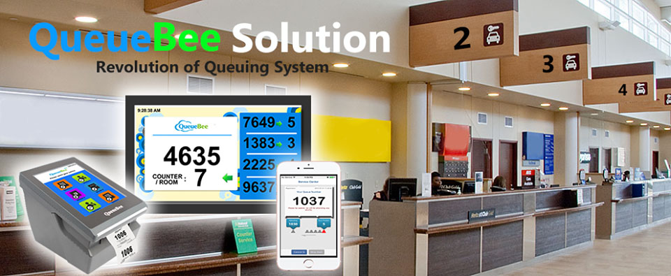 Queue Management System in Kenya | QueueBee in Kenya for banks
