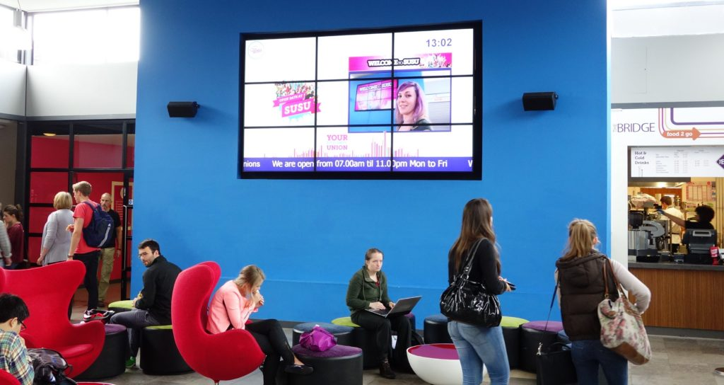 video wall for education digital signage in kenya