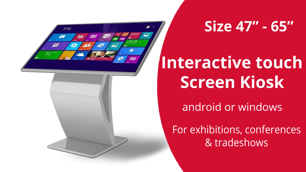 hire event interactive touch screen in kenya