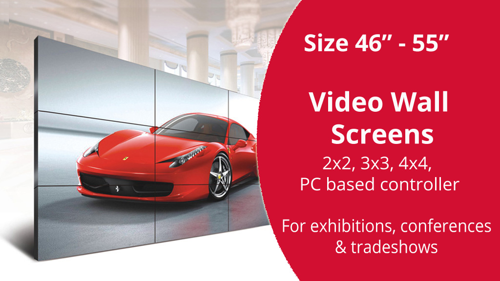 hire or rent event video wall in kenya
